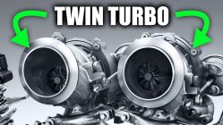 How twin turbo engine works