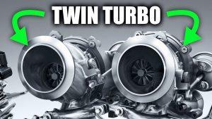 How twin turbo engine works