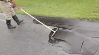 seal coating your own driveway
