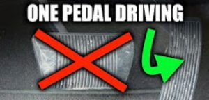 one pedal driving