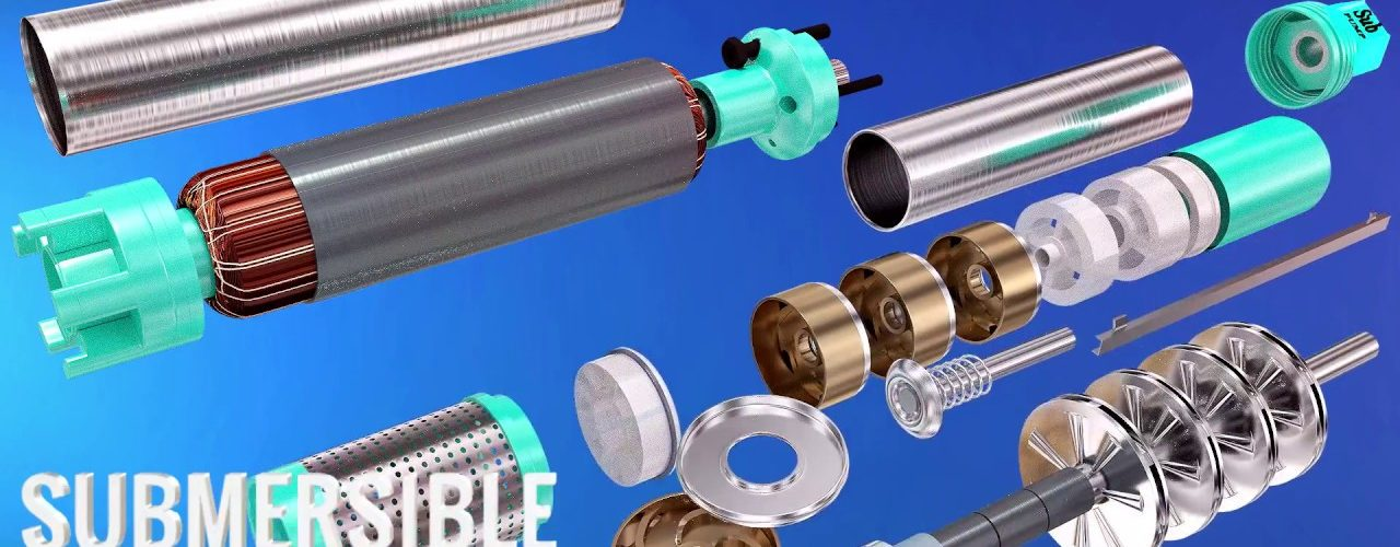 How do Submersible pumps work ?