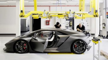 How Lamborghini car is designing and producted